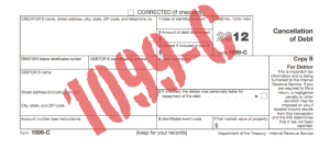 My home was foreclosed/modified/etc and now I owe the IRS